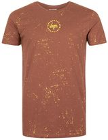 Hype Brown Splat Print T-shirt*