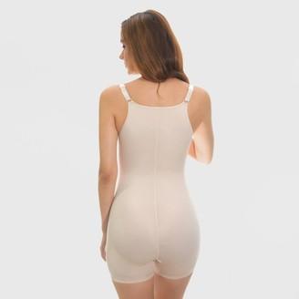 Annette Women's Firm Lace Bodysuit with Boy Leg WYOB -