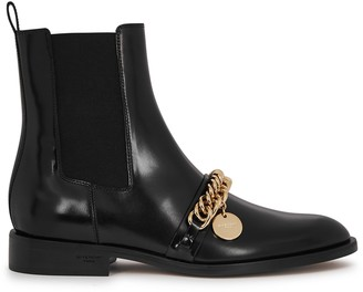 Givenchy Black embellished leather Chelsea boots