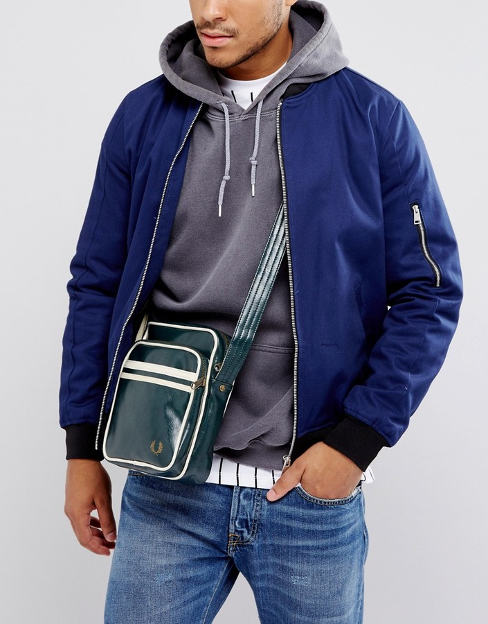 Fred Perry Flight Bag Ivy