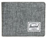 Herschel Men's Hank Rfid Bifold Wallet - Grey