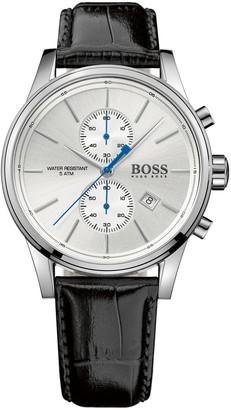 HUGO BOSS Chrono Leather Band Watch