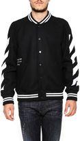 Off-White Diag Varsity Jacket