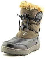 Rudsak Rina Women Round Toe Leather Brown Winter Boot.