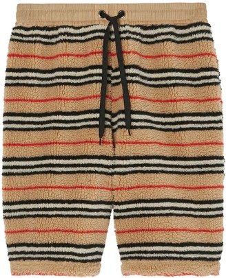 Burberry Icon stripe track shorts