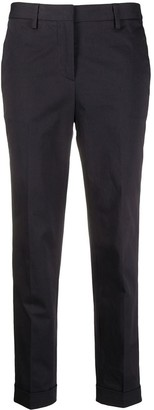 Alberto Biani Mid-Rise Slim Fit Trousers