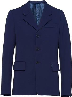Prada Technical Gabardine Jacket
