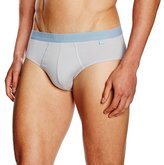 Sloggi for men Men's Slm Elements Midi Boxer Brief - Grey -