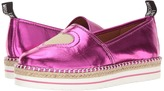 Love Moschino Metallic Heart Espadrille Women's Shoes