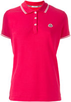 Moncler logo polo shirt - women - Cotton - S