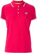 Moncler logo polo shirt - women - Cotton - S