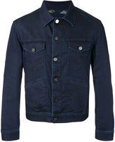 Jacob Cohen button-up denim jacket - men - Cotton/Polyester/Spandex/Elastane - S