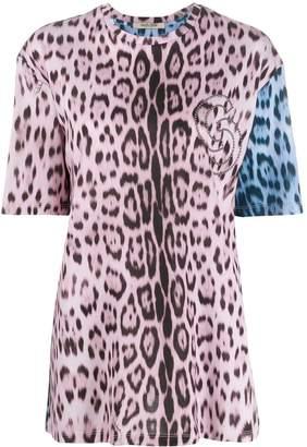 Roberto Cavalli leopard print T-shirt