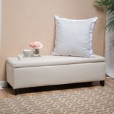Christopher Knight Home Lucinda Fabric Storage Ottoman Bench