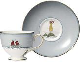 Wedgwood Sailor's Farewell Teacup & Saucer Set - Blue