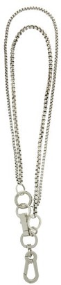 Martine Ali Paolo Sterling Silver-plated Wallet Chain - Silver