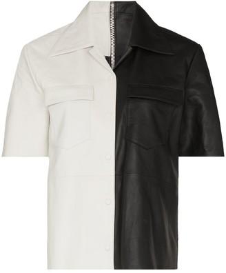 REMAIN Sienna sheepskin shirt