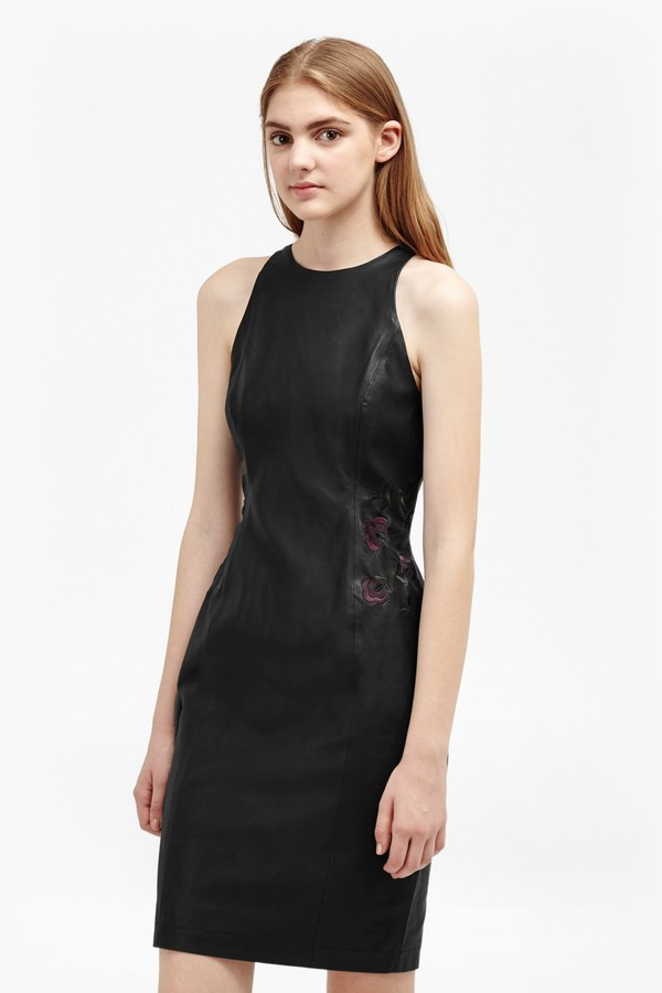 French Connection Canterbury Floral Patch Dress