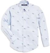 Brooks Brothers Boys' Jockey Print Striped Shirt - Sizes S-XL