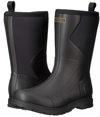 Ariat Springfield Rubber Boot (Black) Men's Pull-on Boots