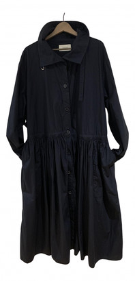 Lemaire Navy Cotton Coats
