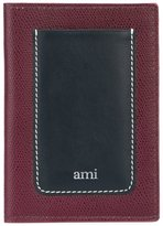 Ami Alexandre Mattiussi passport holder - men - Leather - One Size
