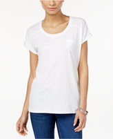 Style&Co. Style & Co. Pocket T-Shirt, Only at Macy's