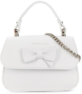 MonnaLisa Bow-Detail Shoulder Bag
