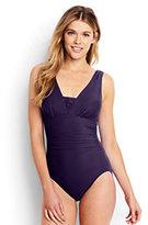 Classic Women's Slender Grecian One Piece Swimsuit-Blackberry