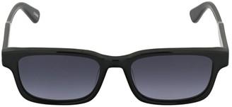 Chimi 106 Black Square Acetate Sunglasses