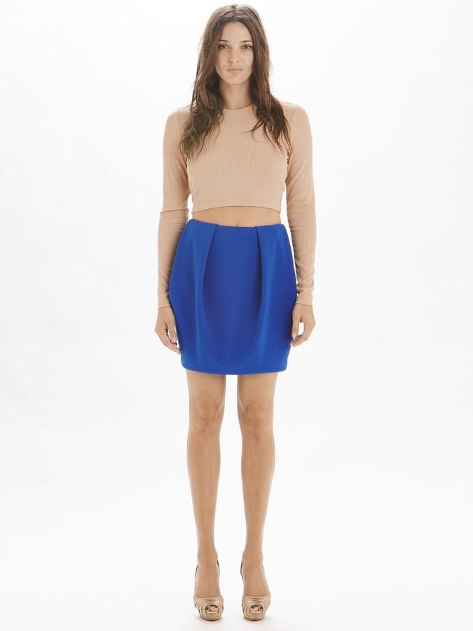 Torn By Ronny Kobo Kara Skirt