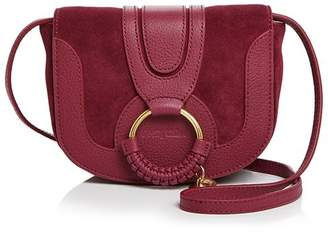 See by Chloe Hana Mini Suede & Leather Crossbody