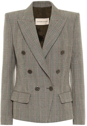 Alexandre Vauthier Checked wool blazer