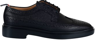 Thom Browne Longwing Perforated Oxford Shoes