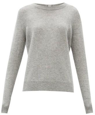 Altuzarra Yumi Button-back Cashmere Sweater - Grey