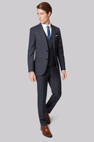 French Connection Slim Fit Navy Semi Plain Jacket