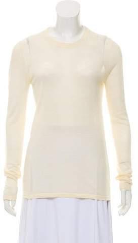 Michael Kors Long Sleeve Scoop Neckline Top