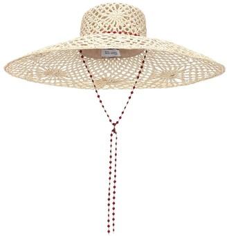 Maison Michel Brigitte straw hat