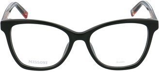 Missoni Squared Framed Glasses