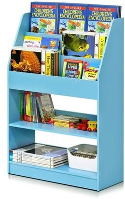 Furinno KidKanac Kids Bookshelf, 5 Shelf, Multiple Colors