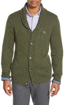 Original Penguin Heritage Slim Fit Shawl Collar Cardigan