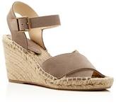 Soludos Crisscross Espadrille Wedge Sandals