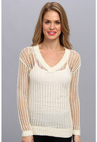 Vince Camuto TWO by L/S V-Neck Sweater