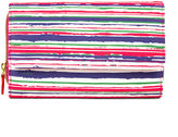 Mundi Big Fat Wallet Brush Strokes Print Wallet