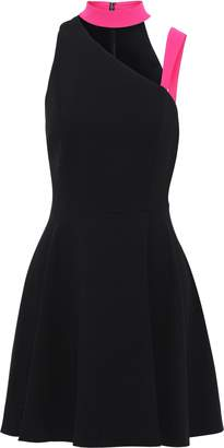 Alice + Olivia Jana Cutout Crepe Mini Dress