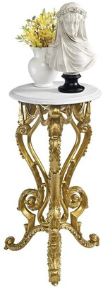 Overstock Design Toscano Palace of Versailles Petite Accent Pedestal Table