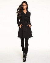 Le Château Double Weave Open Collar Coat