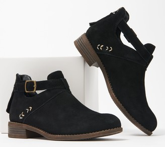 Skechers Buckle Ankle Boots - Sepia