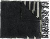 Kenzo striped detail scarf