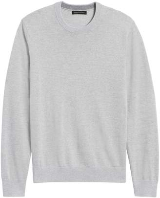 Banana Republic Italian Merino Crew Sweater-Neck Sweater